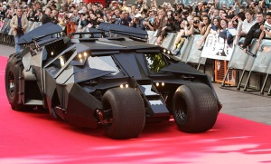 Batmobile on the Red Carpet